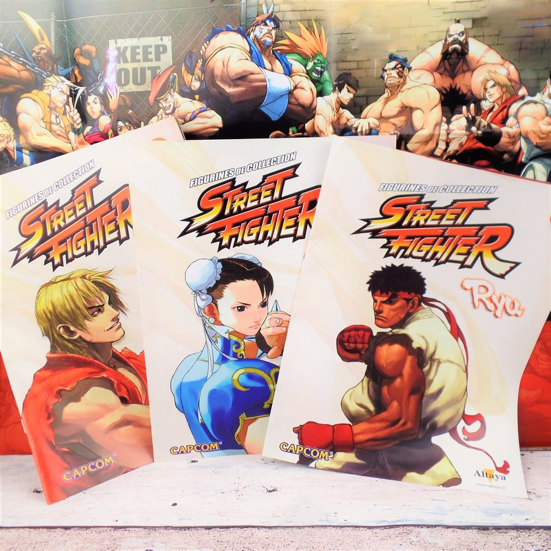 Fascicules Figurines Street Fighter
